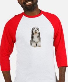Bearded Collie Picture - Baseball Jersey