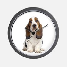 Basset Hound Picture - Wall Clock