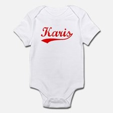 Vintage Karis (Red) Infant Bodysuit