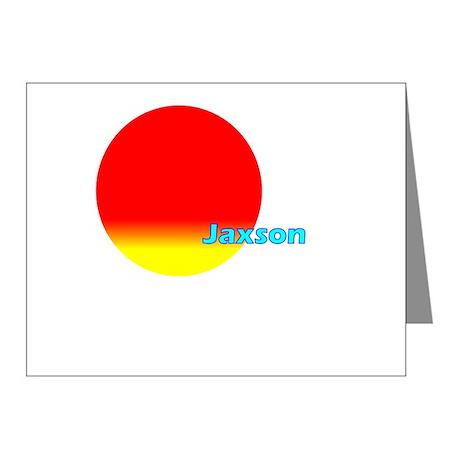Jaxson Note Cards (Pk of 10)