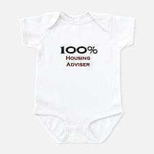 100 Percent Housing Adviser Infant Bodysuit