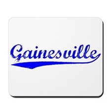 Vintage Gainesville (Blue) Mousepad