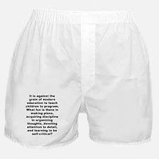 Quotable quotes Boxer Shorts