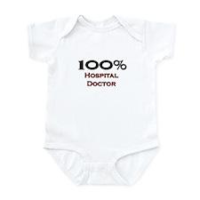 100 Percent Hospital Doctor Infant Bodysuit