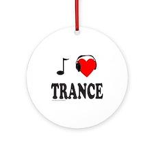 TRANCE MUSIC Ornament (Round)