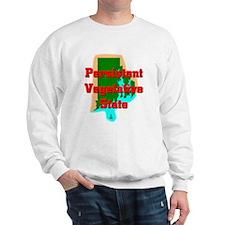 Rhode Island Vegetative State Sweatshirt