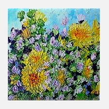 Mother's Bouquet Tile Coaster