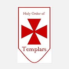 Templars Rectangle Decal