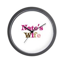 Nate's Wife Wall Clock