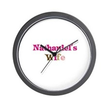 Nathaniel's Wife Wall Clock