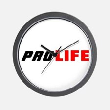 PRO LIFE CHOICE Wall Clock
