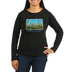 Plein Air Women's Long Sleeve Dark T-Shirt