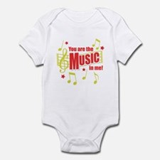 You Are The Music In Me Infant Bodysuit