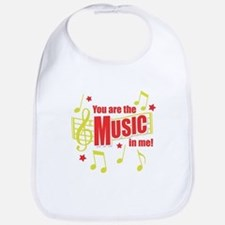 You Are The Music In Me Bib