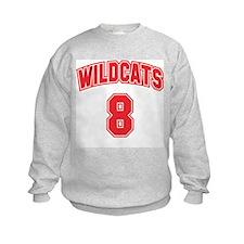 Wildcats 8 Sweatshirt