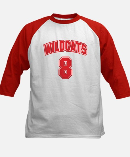 Wildcats 8 Kids Baseball Jersey