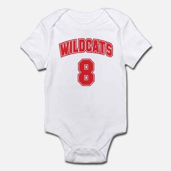 Wildcats 8 Infant Bodysuit