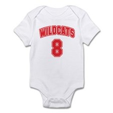 Wildcats 8 Onesie