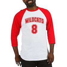 Wildcats 8 Baseball Jersey