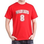 Wildcats 8 Dark T-Shirt
