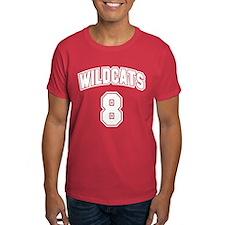 Wildcats 8 T-Shirt