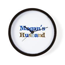 Megan's Husband Wall Clock