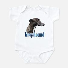 Greyhound Name Infant Bodysuit