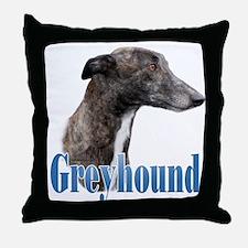 Greyhound Name Throw Pillow