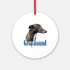 Greyhound Name Ornament (Round)