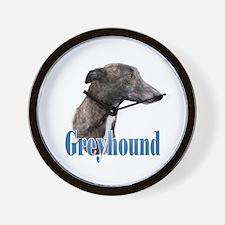 Greyhound Name Wall Clock