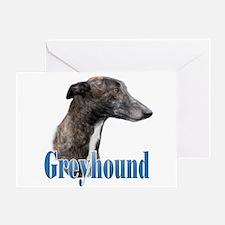 Greyhound Name Greeting Card