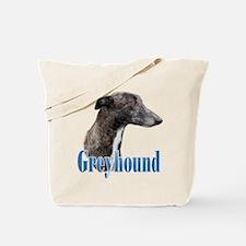 Greyhound Name Tote Bag