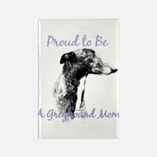 Greyhound Mom1 Rectangle Magnet (10 pack)