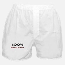 100 Percent Hockey Player Boxer Shorts