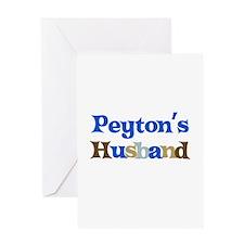 Peyton's Husband Greeting Card