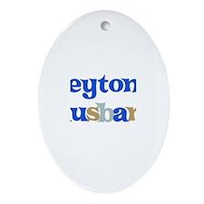 Peyton's Husband Oval Ornament