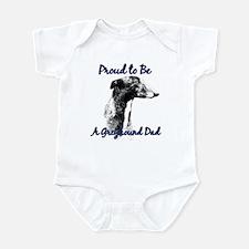 Greyhound Dad1 Infant Bodysuit