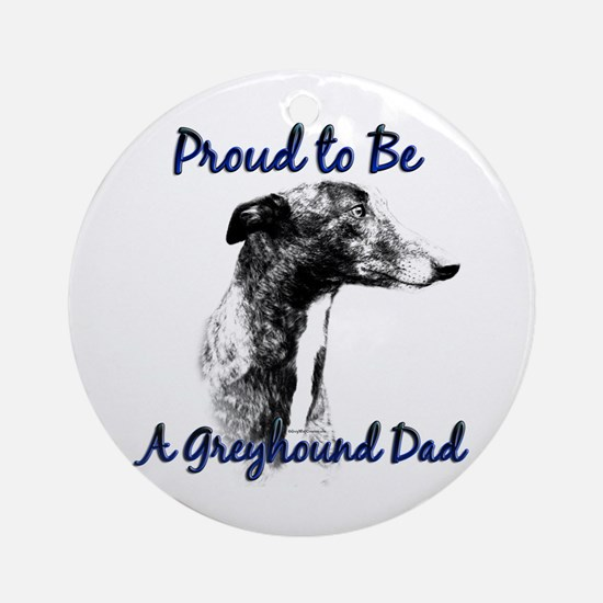 Greyhound Dad1 Ornament (Round)