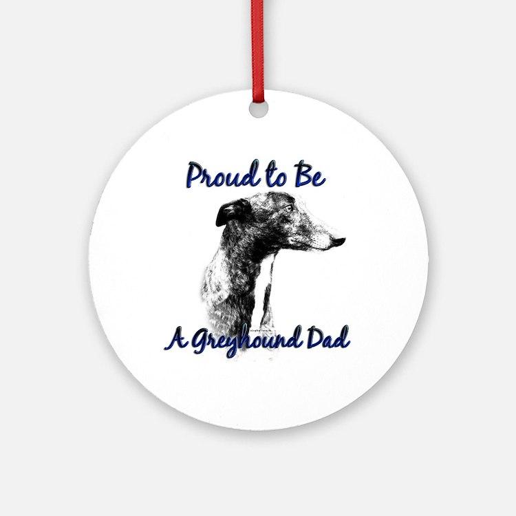Greyhound Dad1 Ornament (Round)