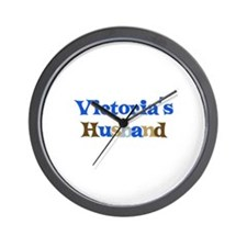 Victoria's Husband Wall Clock