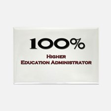 100 Percent Higher Education Administrator Rectang