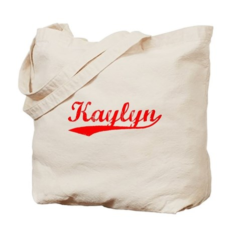 Vintage Kaylyn (Red) Tote Bag