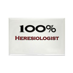 100 Percent Heresiologist Rectangle Magnet (10 pac