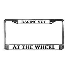 Racing Nut License Plate Frame