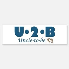 Uncle to Be Bumper Bumper Bumper Sticker