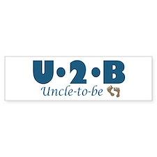 Uncle to Be Bumper Bumper Sticker