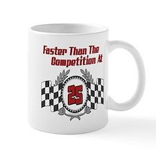 Racing At 25 Mug