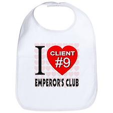 I Love Emperor's Club Client Bib