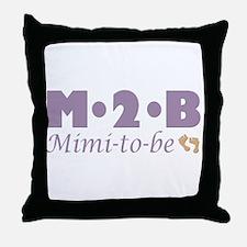 Mimi to Be Throw Pillow