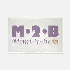 Mimi to Be Rectangle Magnet